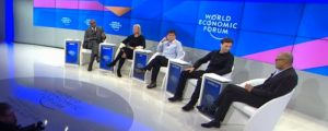 AI panel at World Economic Forum in Davos