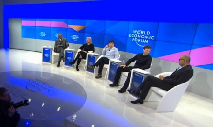 AI panel at World Economic Forum in Davos