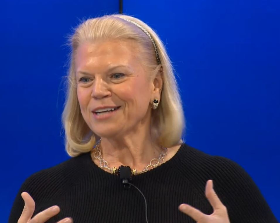 IBM CEO Ginni Rometty at Davos