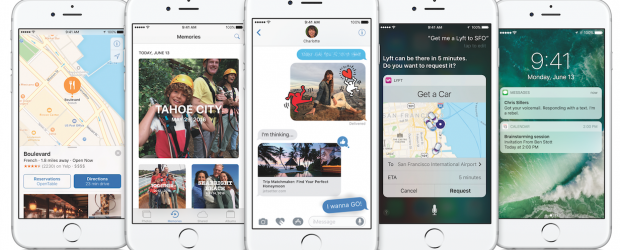 iOS 10 - Apple iPhone hero