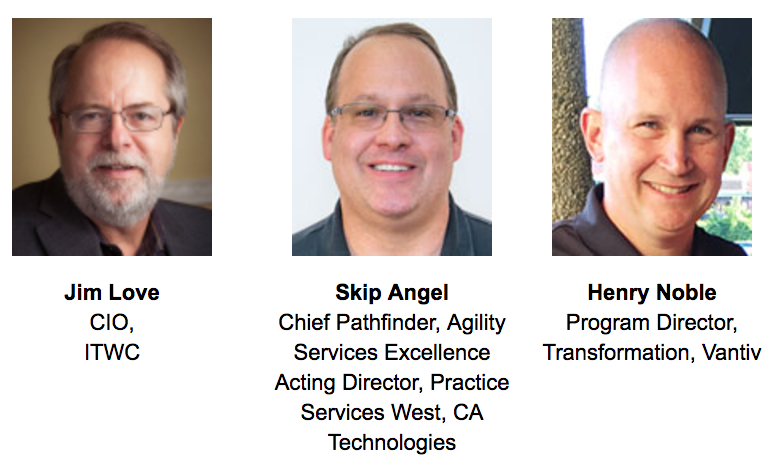 Digital transformation trenches webinar speakers