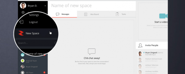 Zang Spaces feature