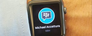 BBM on Apple Watch