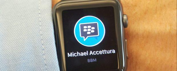 BBM on Apple Watch