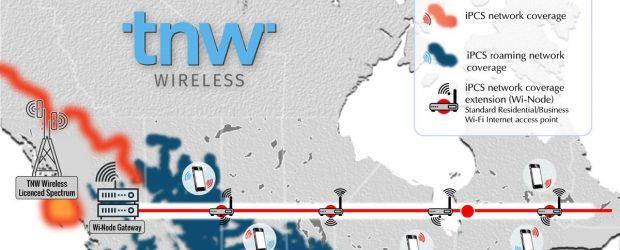 TNW wireless network - feature