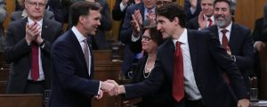 Federal Budget 2017 - Trudeau and Morneau