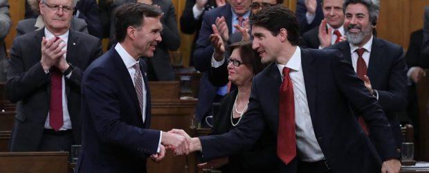 Federal Budget 2017 - Trudeau and Morneau