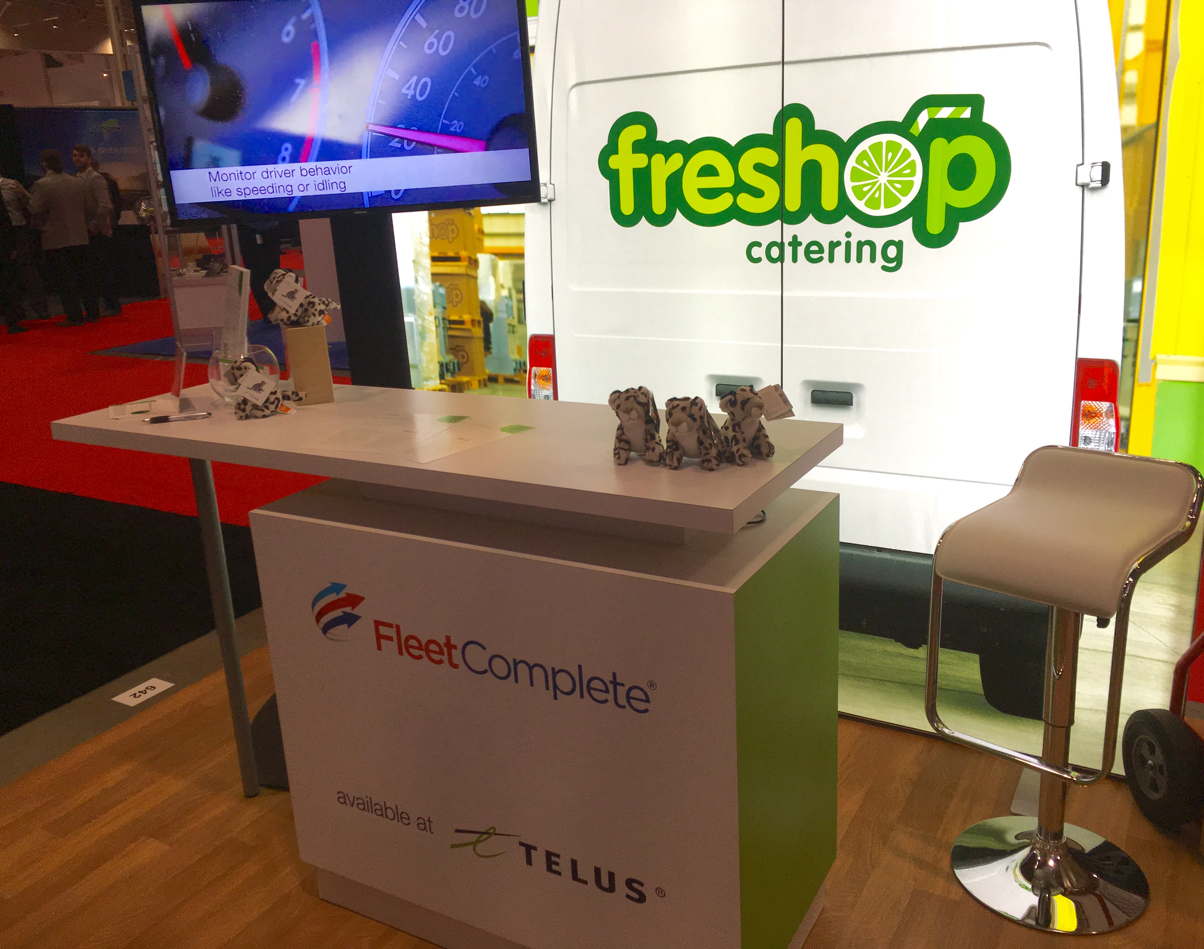 Fleet Complete Telus RC Show booth