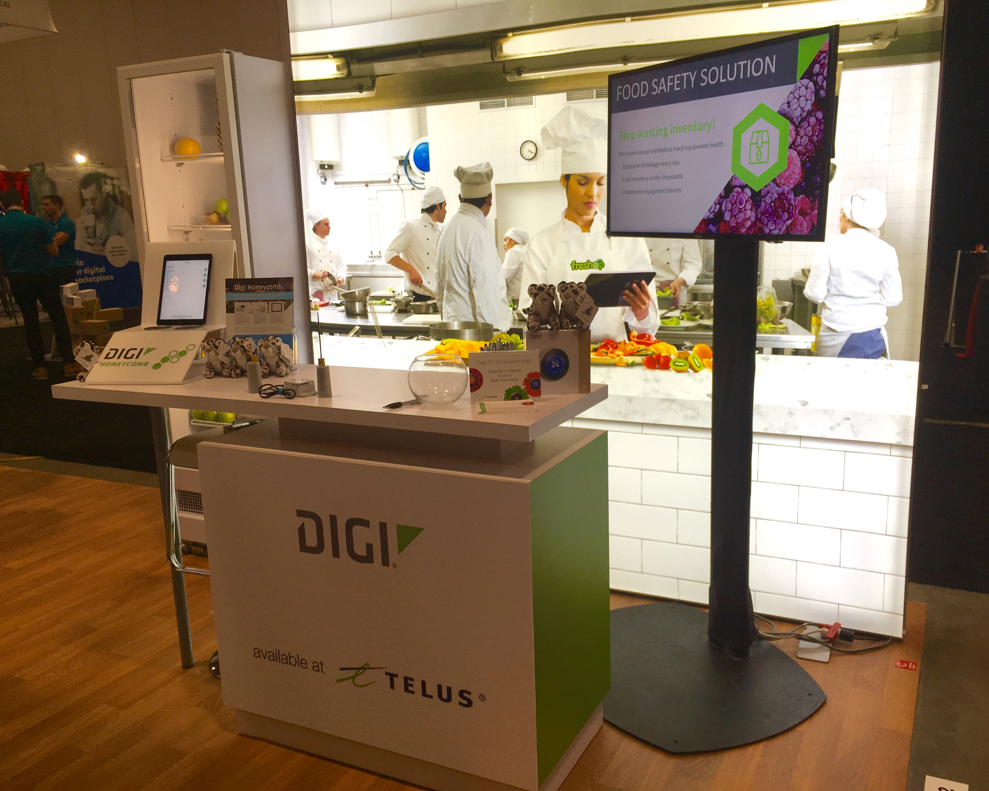 Telus Highlights Iot Solutions For Food Industry At The Rc