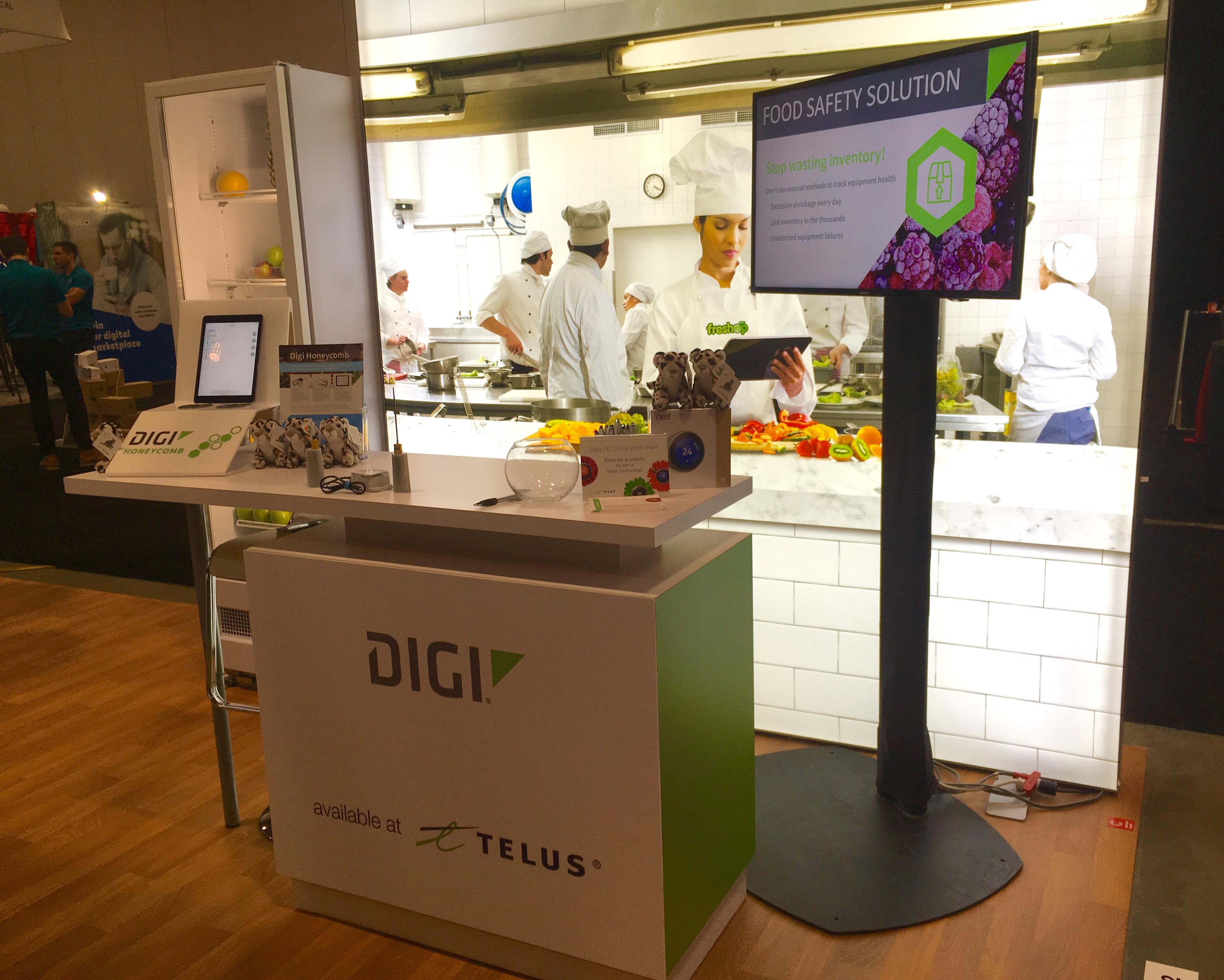 Digi food sensors Telus RC Show