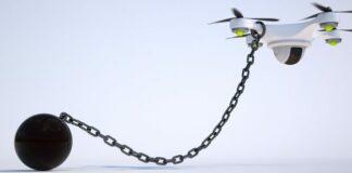 no drone zone chains
