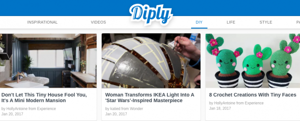 Diply banner - feature