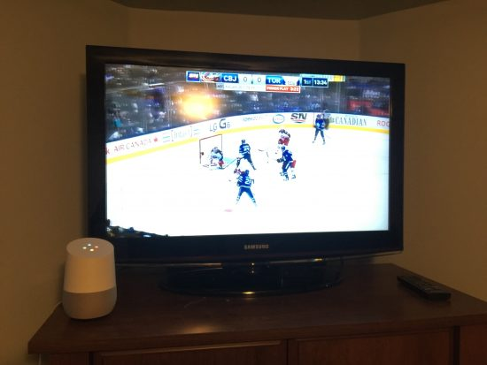 Google Home with TV