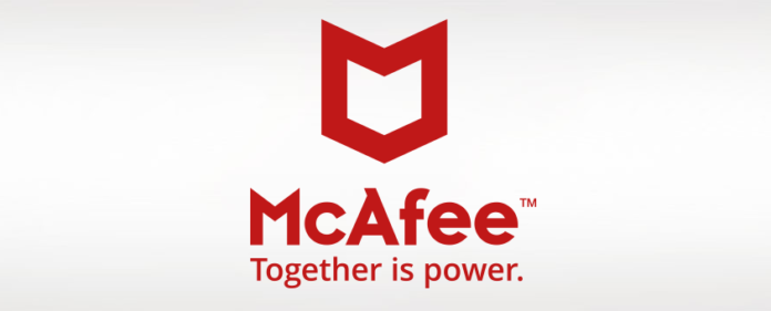 McAfee logo April 2017