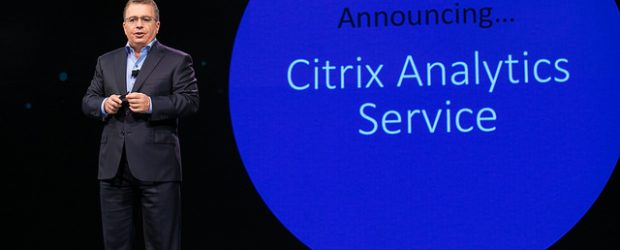 Citrix CEO introduces Analytics service