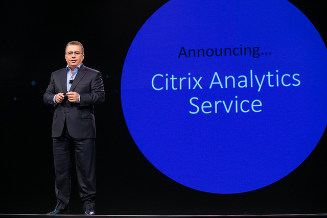 Citrix CEO introduces Analytics service