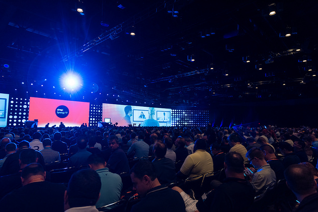 Citrix Synergy 2017 - stage and crowd