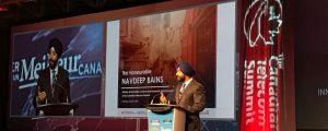 Navdeep Bains at CTS 2017