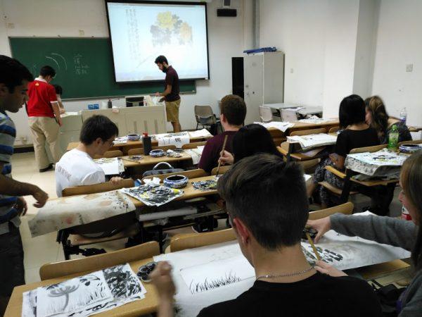 Art Class in Beijing