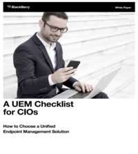 A UEM Checklist for CIOs