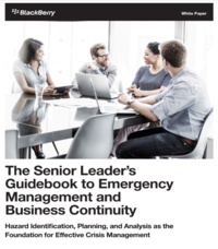 The Senior Leader's Guidebook to Emergency Management and business Continuity