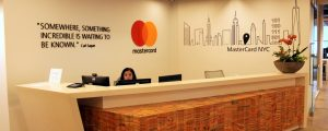 Mastercard Tech Hub NYC reception