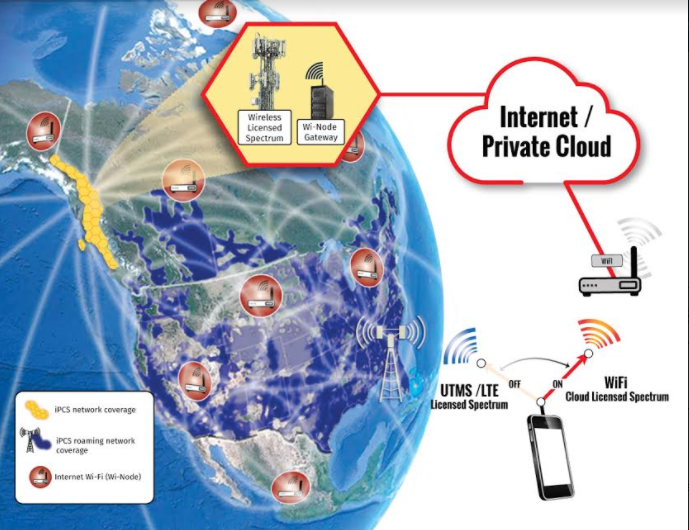 iPCS network coverage - TNW Wireless