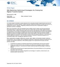 IBM Optimizes Multicloud Strategies for Enterprise Digital Transformation
