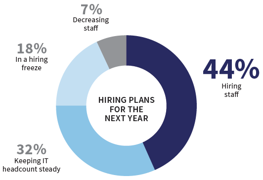 CIO Census - hiring plans 2017