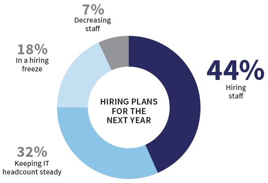 CIO Census - hiring plans 2017