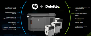 HP and Deloitte - alliance for manufacturing