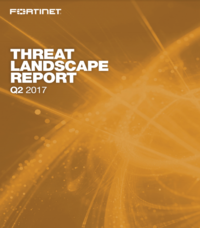 Fortinet Threat Landscape Report Q2 2017