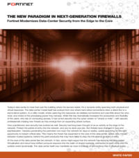 THE NEW PARADIGM IN NEXT-GENERATION FIREWALLS