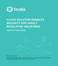 Cloud solution enables security for highly regulated industries