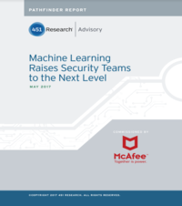 Machine Learning Raises Security Teams to the Next Level