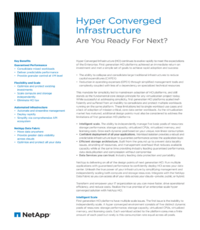 Hyper Converged Infrastructure: Are You Ready For Next?