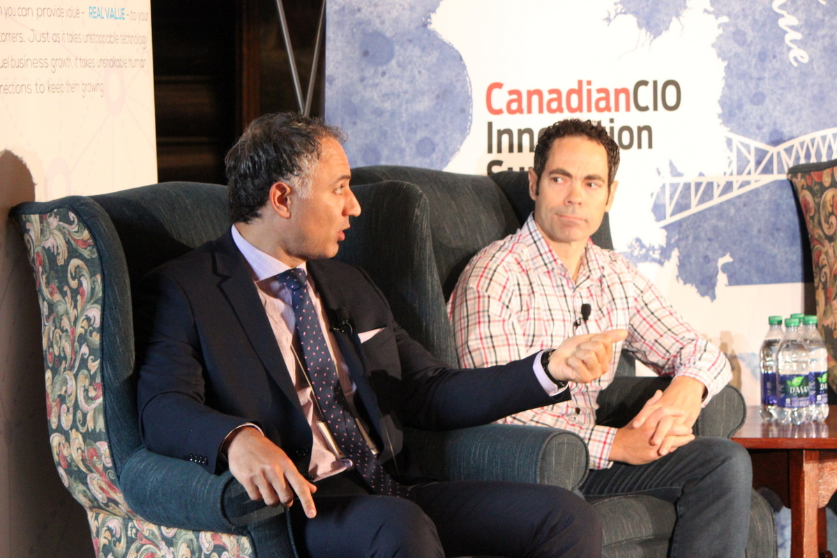 Joe AbiDaoud & Ian Rae - CIO Summit 2017