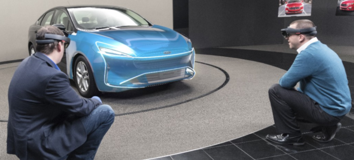 Ford HoloLens designers