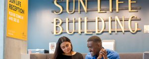 Sun Life One York reception