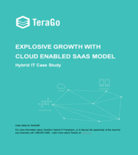 Explosive growth with cloud enabled SaaS model
