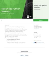 Modern Data Platform Workshop