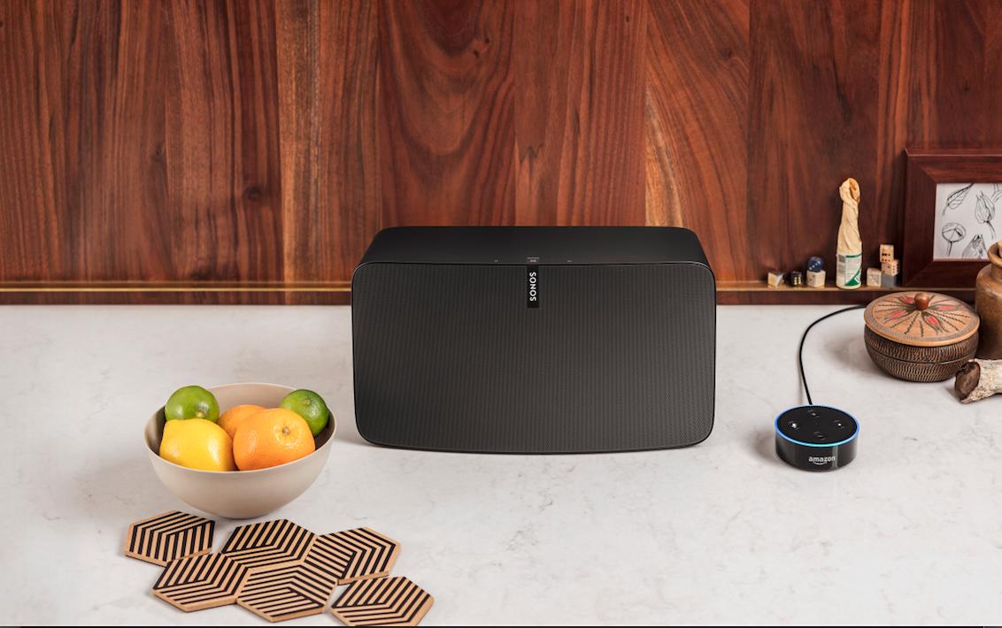 Sonos wit Alexa - Echo Dot