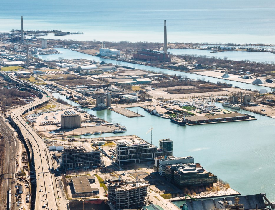 Google to develop high-tech waterfront site in Toronto
