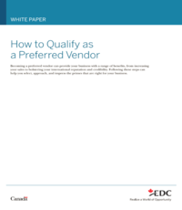 How to Qualify as a Preferred Vendor