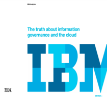 The  verity about information governance and the cloud