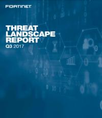 Threat Landscape Report Q3 2017