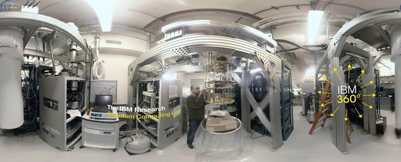 IBM research - quantum lab