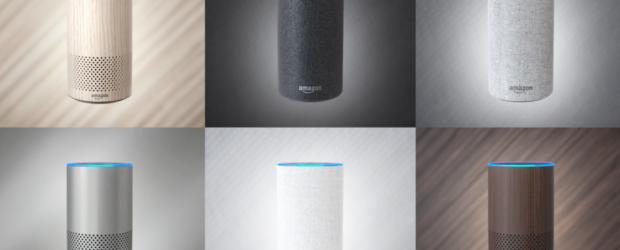 Amazon Echo colours