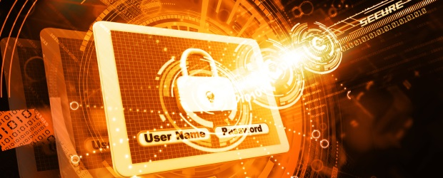 Graphic symbolizing cybersecurity