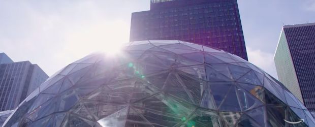 Amazon headquarters sphere - Seattle